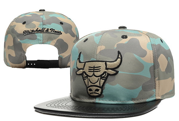 Chicago Bulls Snapback Hat 6 XDF 0526